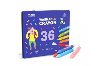Mideer Washable Crayon - 36 Colours