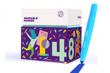 Mideer Washable Marker-48 Colours