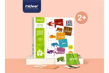 Mideer The Very Hungry Caterpillar - Color Match Puzzle