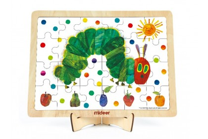 Mideer The Very Hungry Caterpillar Wooden Puzzle