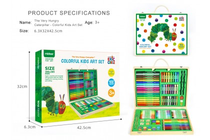 Mideer The Very Hungry Caterpillar - Colorful Kids Art Set
