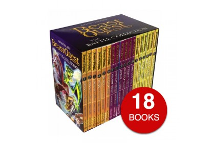 Beast Quest: The Battle Collection (18 books)