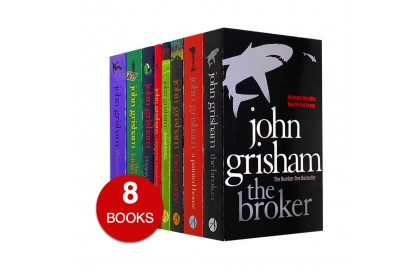 John Grisham Collection (Set 1-The Broker etc) (8 books)