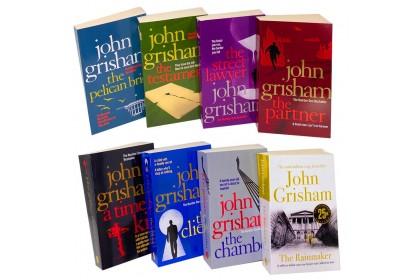 John Grisham Collection (Set 1-The New Testament etc) (8 books)