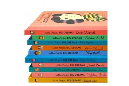 Little People, Big Dreams Gift Set (10 books)