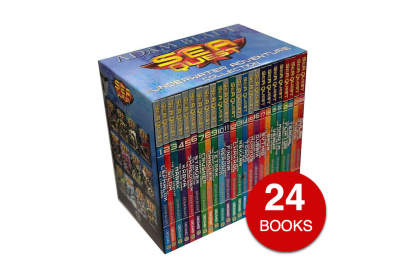 Sea Quest Series 1-6 Collection (24 books)