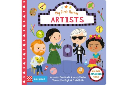 Artists (Campbell My First Heroes Series)