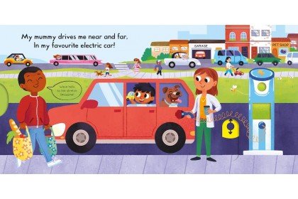 Busy Cars (Campbell Busy Book Series)