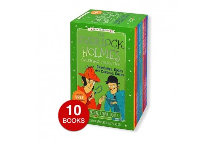 Sherlock Holmes Children's Collection (GREEN) :Creatures, Codes and Curious Cases (10 books)