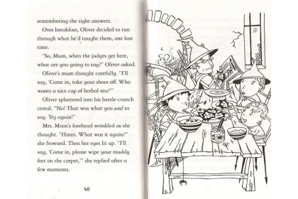 Usborne Oliver Moon Junior Wizard Series Collection (12 books)