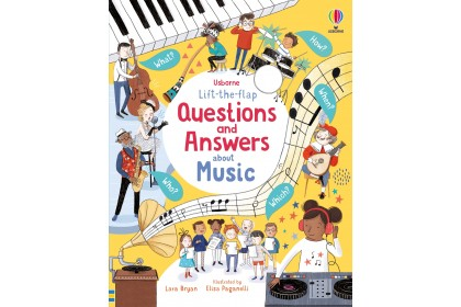 Usborne Lift-the-Flap Q&A about Music