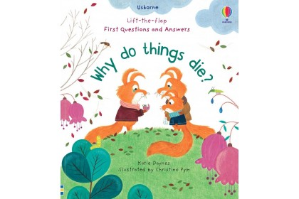 Usborne Lift-the-Flap First Q&A Why Do Things Die?