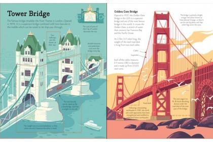 Usborne See Inside Bridges, Towers and Tunnels