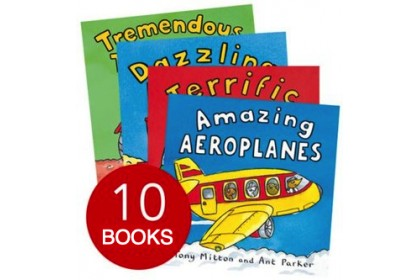 The Amazing Machines Collection (10 books)