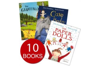 Julia Donaldson Picture Book Collection (10 books)