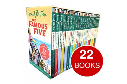 Enid Blyton The Famous Five: Complete Collection (22 books)