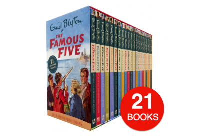 Enid Blyton The Famous Five Collection (21 books)