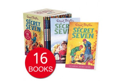 Enid Blyton The Secret Seven: Complete Collection (16 books)