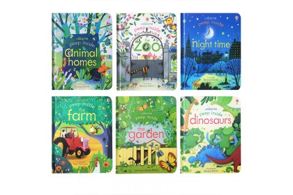 Usborne Peep Inside Collection (6 books)