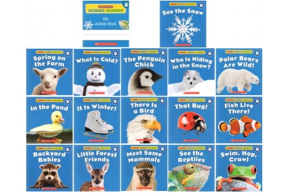 Guided Science Readers Collection (with CD)