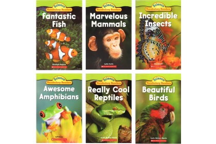 Science Vocabulary Readers: Animal Groups (6 books) (DISPLAY COPY)