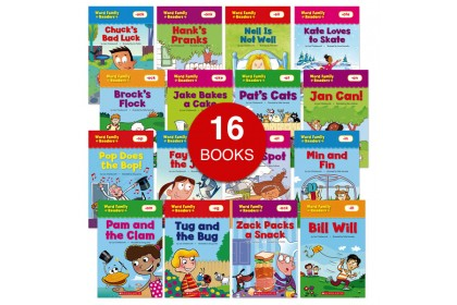 Word Family Readers Collection (16 books)