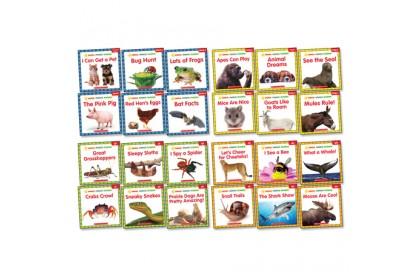 Animal Phonics Readers Collection (24 books)