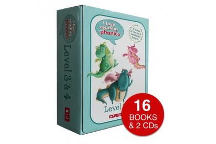 I Love Reading Phonics (Levels 3 & 4) (with CDs)