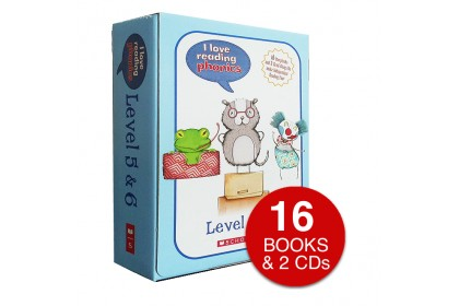 I Love Reading Phonics (Levels 5 & 6) (with CDs)
