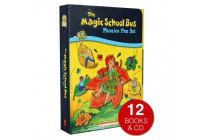 The Magic School Bus Phonics Fun Collection (12 books with CD)