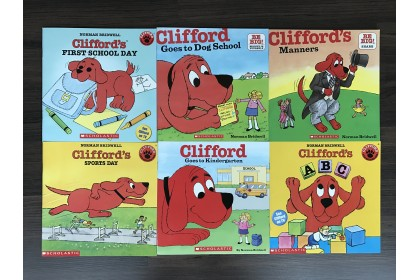 Clifford Goes to School Story Collection (6 books)