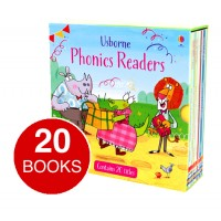 Usborne Phonics Readers Complete Collection (20 books)
