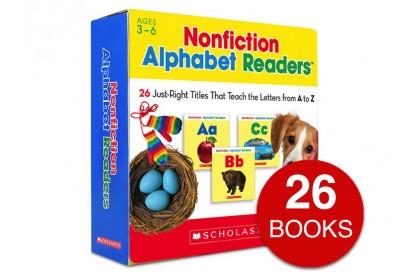 Nonfiction Alphabet Readers Collection (26 books)
