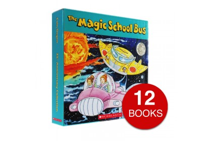 The Magic School Bus Anniversary Collection (12 books)
