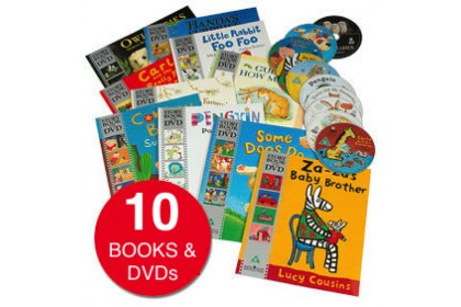 A Time for a Story Collection (10 books and DVDs)