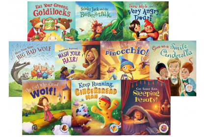 My Fairy Tales with Educational Twist Collection (10 books)