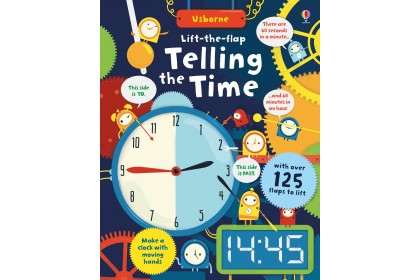 Usborne Lift-the-Flap Telling the Time
