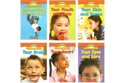 Science Vocabulary Readers: Human Body (6 books)
