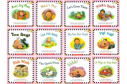 Scholastic Phonics Readers Collection (with CD)
