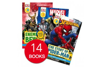 Marvel Collection (14 books) (DISPLAY COPY)