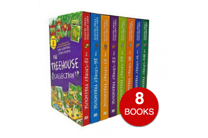 The 13 Storey Treehouse Collection (8 books)