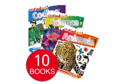DK Findout! Collection (10 books) (Display copy)