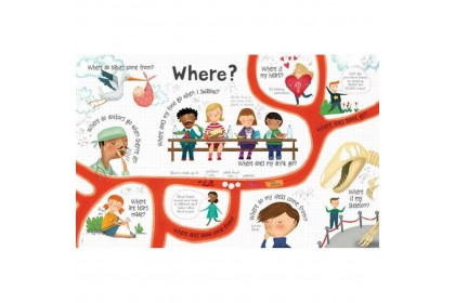 Usborne Lift-the-Flap Questions and Answers About Your Body
