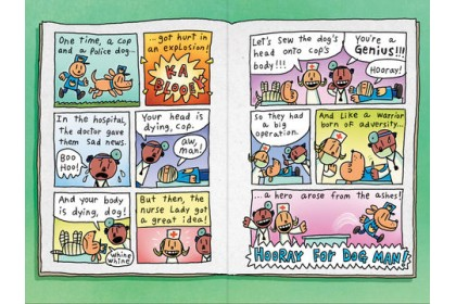 Dog Man Adventure Collection (4 books)