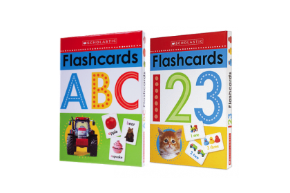 Scholastic ABC & 123 Flashcards Collection