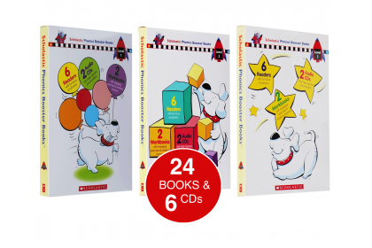 Scholastic Phonics Booster Collection (Levels 1-3)