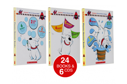 Scholastic Phonics Booster Collection (Levels 4-6)