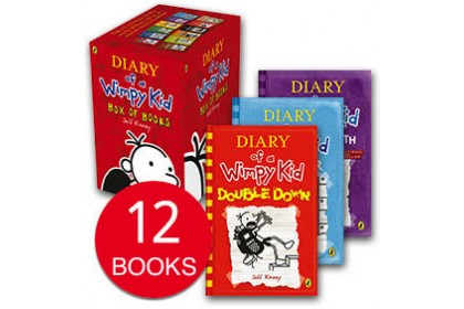 Diary of Wimpy Kid (12 books)
