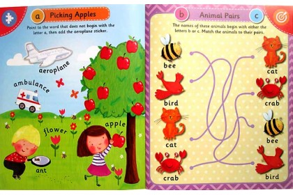 My First Preschool Sticker Collection (4 books)