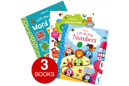 Usborne Lift-the-Flap First Concepts Collection (3 books)